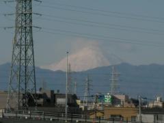 2010年元旦の富士山