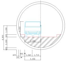 73式特大型セミトレーラーは地下鉄トンネルを走れるか?