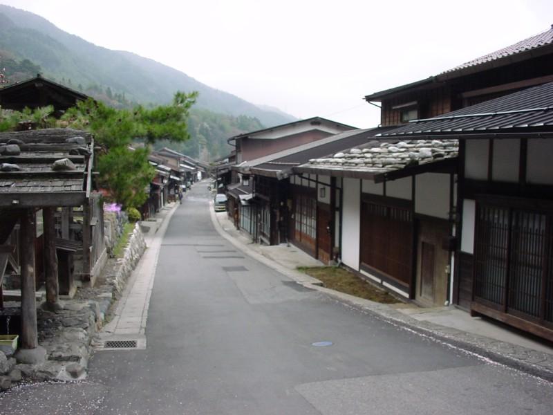 奈良井町並み