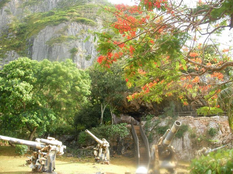 サイパン 旧日本軍司令塔跡
